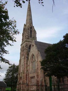 Bargeddie Parish Church - photo courtesy of Bargeddie Parish Church Website